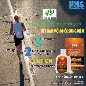 Dầu Nóng Massage IRIS